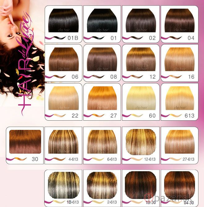 200 prameňov pravé živé vlasy dc12337e83f
