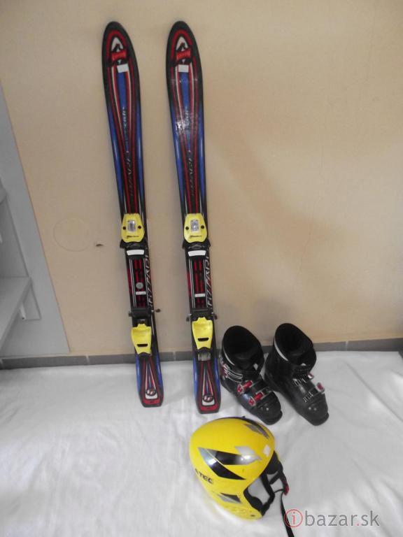 Detské lyže 110cm atomic blizzard lyžiarky prilba -  b2d87109b7c